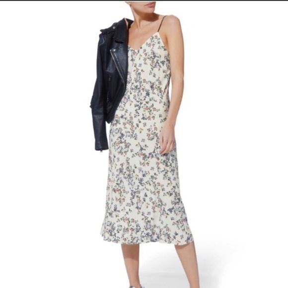 b78971772f094 rag & bone Dresses | Rag Bone Astrid Slip Dress White Garden Floral ...